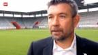 Video «Fussball: Der neue Thun-Trainer Urs Fischer» abspielen