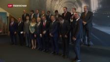 Video «Parat für die Einweihung des Gotthard-Basistunnels» abspielen