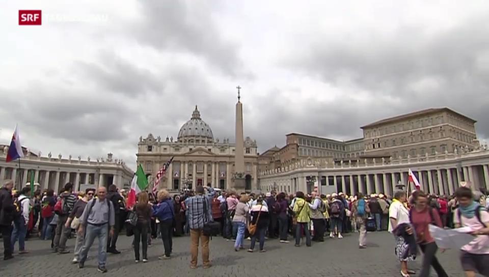 Zwei Millionen Pilger erwartet