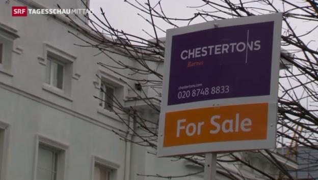 Video «Run auf Immobilien in London» abspielen