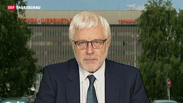 SRF-Korrespondent Peter Gysling zur Verwirrung um Snowden