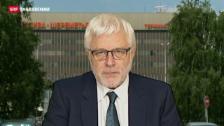 Video «SRF-Korrespondent Peter Gysling zur Verwirrung um Snowden» abspielen