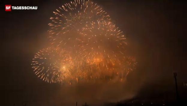 Video «Das grösste Feuerwerk der Schweiz (unkommentiert)» abspielen