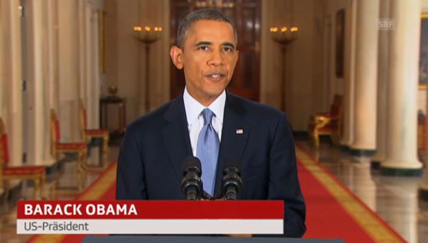 Video «Obama zu Syrien (Engl.): Vollständige Rede an die Nation» abspielen