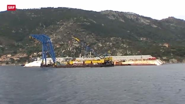 Video «Gedenken der Opfer des «Costa Concordia»-Unglücks» abspielen