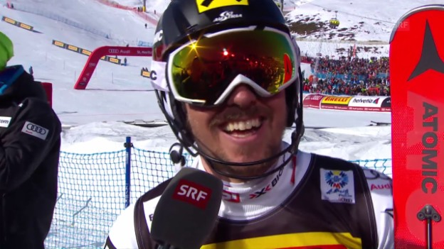 Video «Hirscher: «Brutal anstrengend»» abspielen