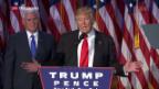Video «Donald Trump ist neuer US-Präsident» abspielen