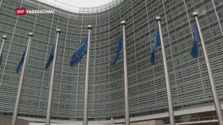 Video «EU macht ernst mit Drohung» abspielen
