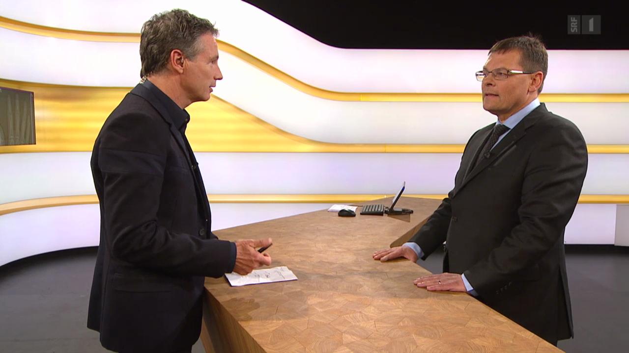 Studiogespräch mit Tarzis Jung, Schweizerische Gesellschaft für Radiologie