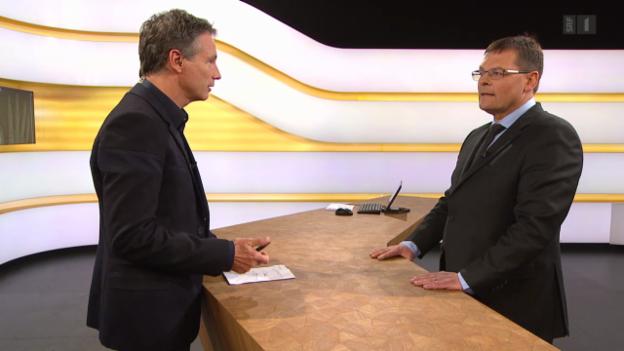 Video «Studiogespräch mit Tarzis Jung, Schweizerische Gesellschaft für Radiologie» abspielen
