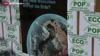 Video «Umstrittene Ecopop-Initiative» abspielen