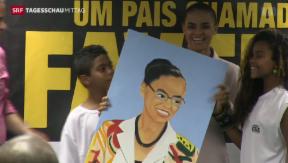 Video «Präsidentschaftswahlen in Brasilien » abspielen