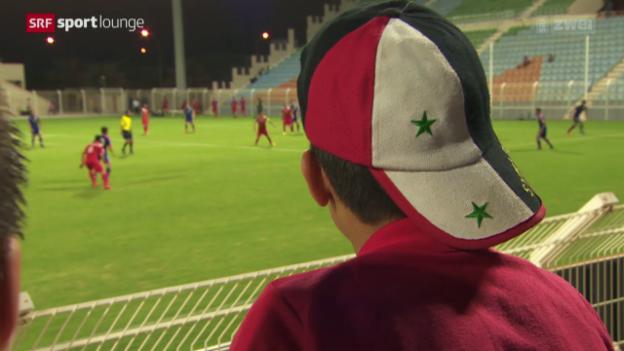 Video «Im Namen des Diktators – Syriens Fussballnati auf WM-Mission» abspielen