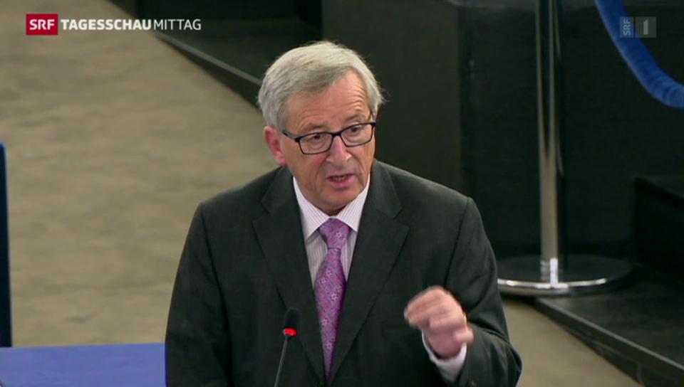 Juncker stellt Investitionspaket vor