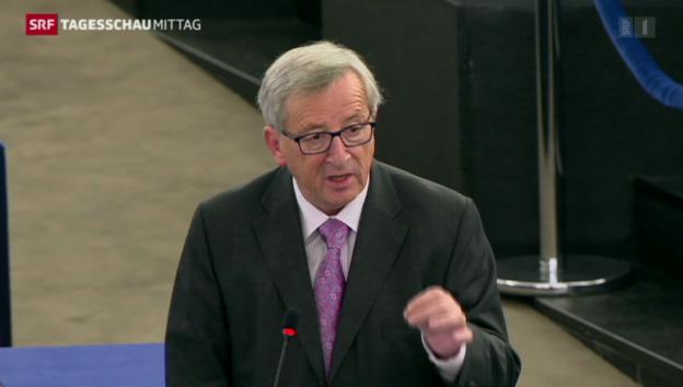 Video «Juncker stellt Investitionspaket vor» abspielen