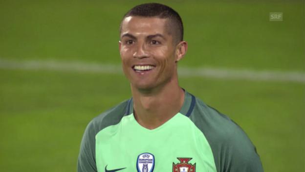 Video «Portugal ist Ronaldo, Ronaldo ist Portugal» abspielen
