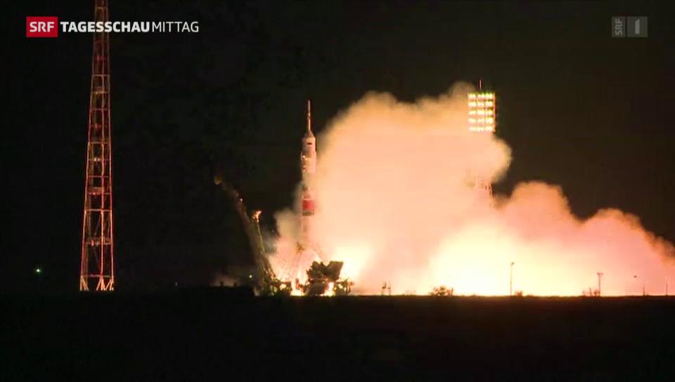 Sojus-Rakete erreicht ISS