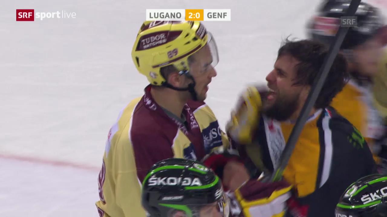 Eishockey: Playoff-Viertelfinal, Lugano - Genf-Servette («sportlive», 13.03.2014)