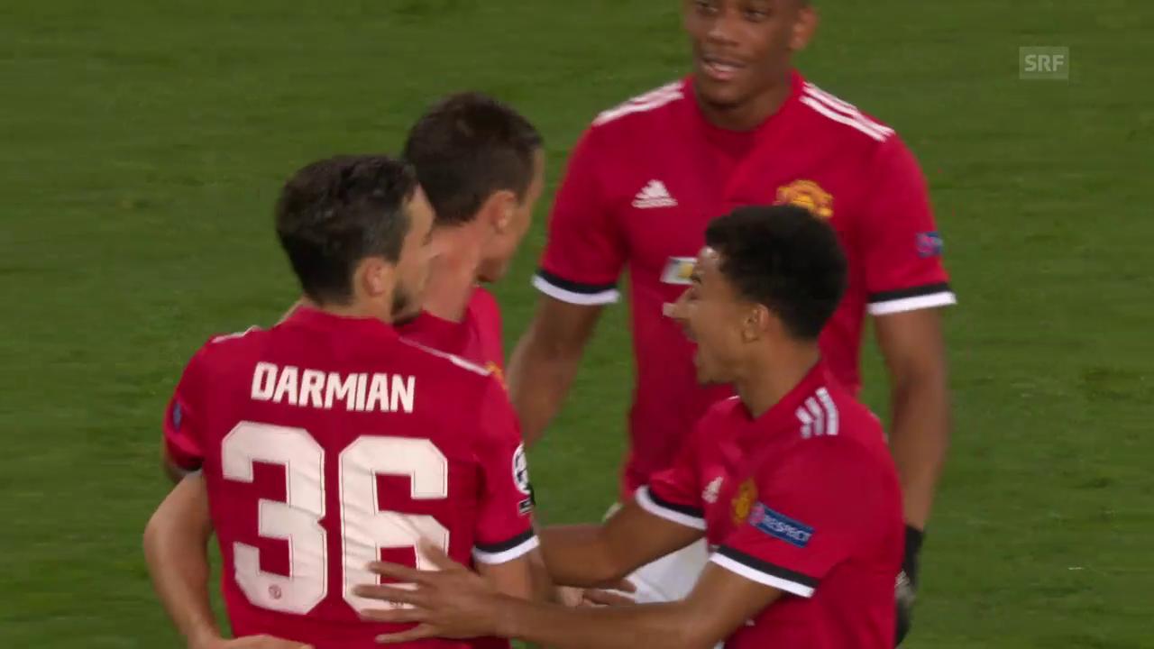 4. Sieg im 4. Spiel für Manchester United