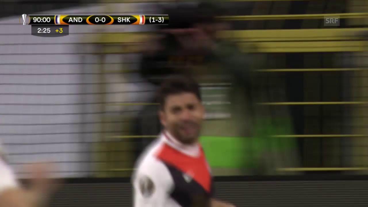 Donezk eliminiert Anderlecht