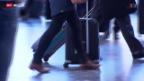Video «Swiss und Lufthansa verstärken Handgepäck-Kontrollen» abspielen