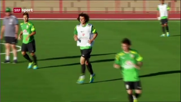 Video «Fussball: Brasilien vor dem Confed Cup («sportaktuell»)» abspielen