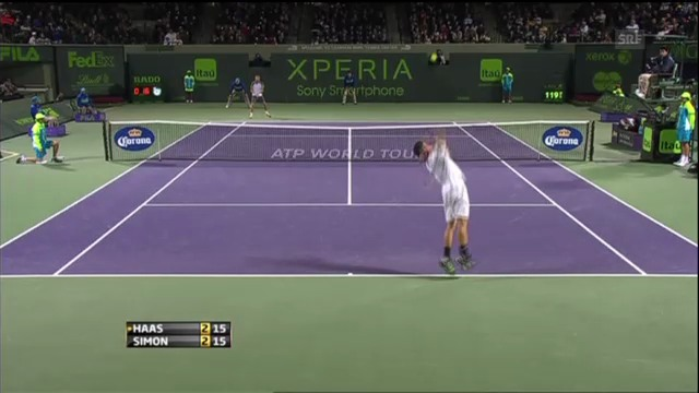 ATP Miami: Highlights Haas - Simon (unkommentiert)