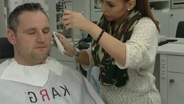 Video «Nöldi Forrer: Geduldsprobe in der Maske» abspielen