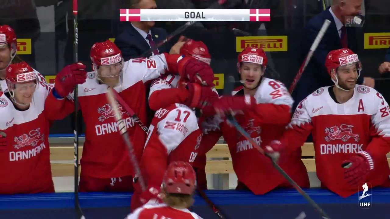 Die Tore bei Dänemark - Norwegen