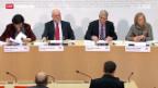 Video «GPK kritisiert Bundesrat in der Affäre Hildebrand» abspielen