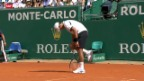 Video «Tennis: ATP 1000 Monte Carlo, Achtelfinals» abspielen