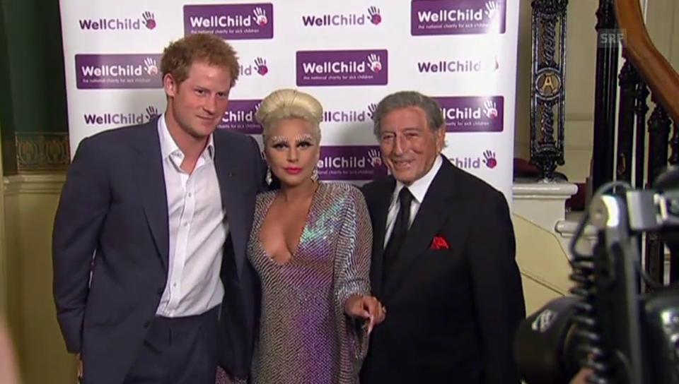 Lady Gaga trifft Prinz Harry