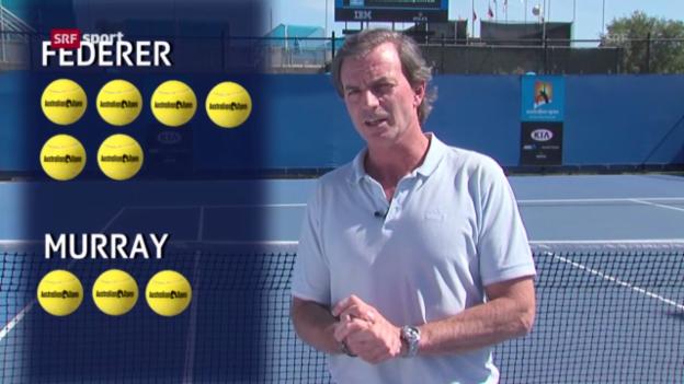 Video «Australian Open: Analyse von Experte Günthardt» abspielen