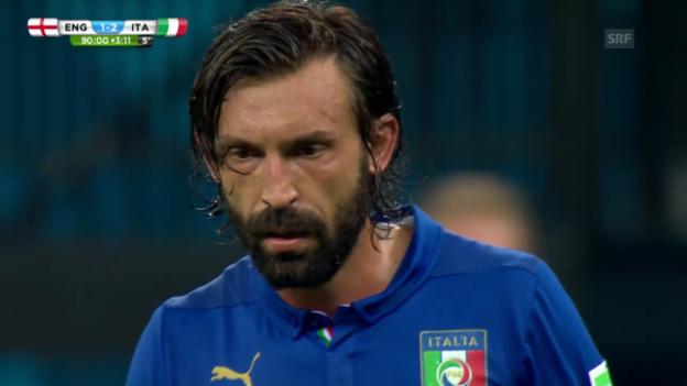Video «Szenen von Pirlo im Spiel gegen England» abspielen