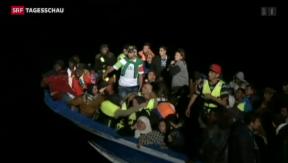 Video «4'500 Flüchtlinge aus Seenot gerettet» abspielen