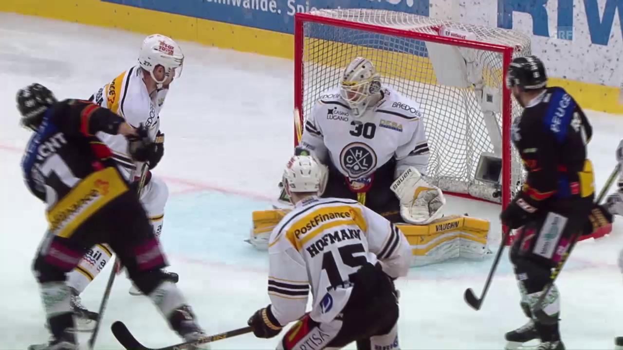 Das goldene Tor von Thomas Rüfenacht im Spiel gegen Lugano