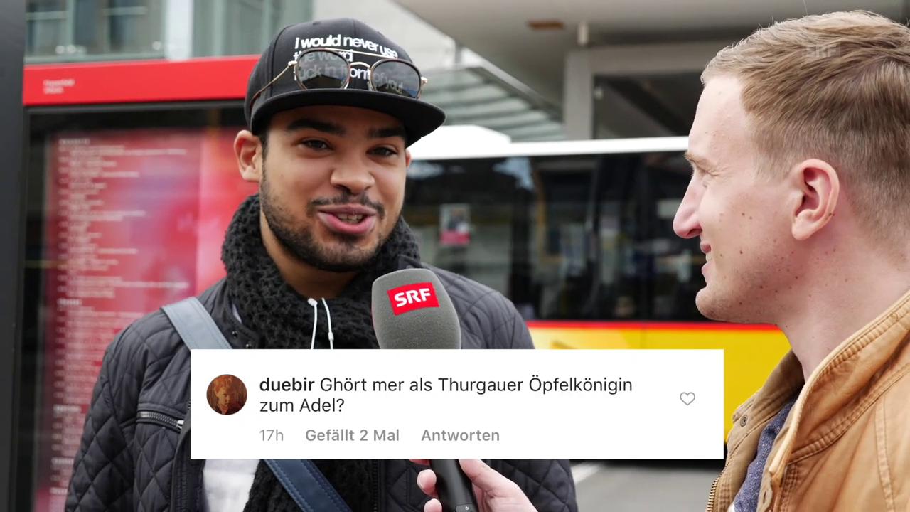«3 Fragen vom 3» - Thurgau