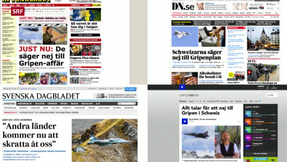 Die Reaktion aus Schweden