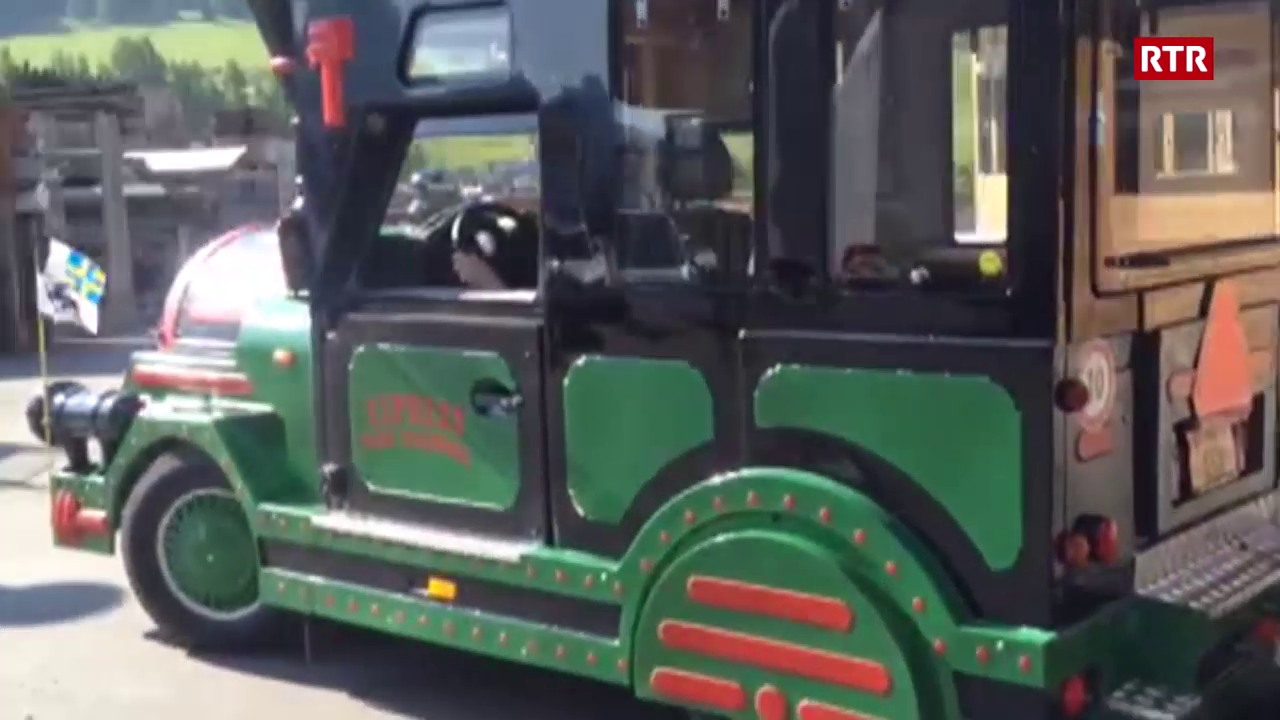 Cun il tren da S-chanf a la porta dal Parc Naziunal
