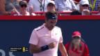 Video «Souveräner Federer steht in Montreal im Halbfinal» abspielen