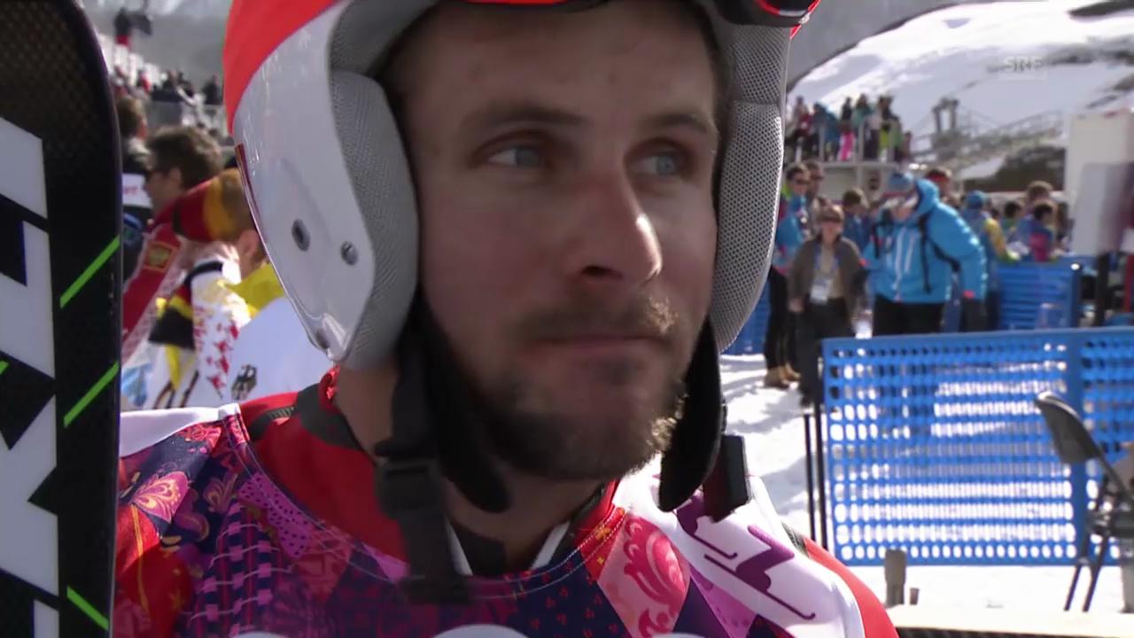 Skicross: Männer, Interview mit Armin Niederer (sotschi direkt, 20.2.2014)