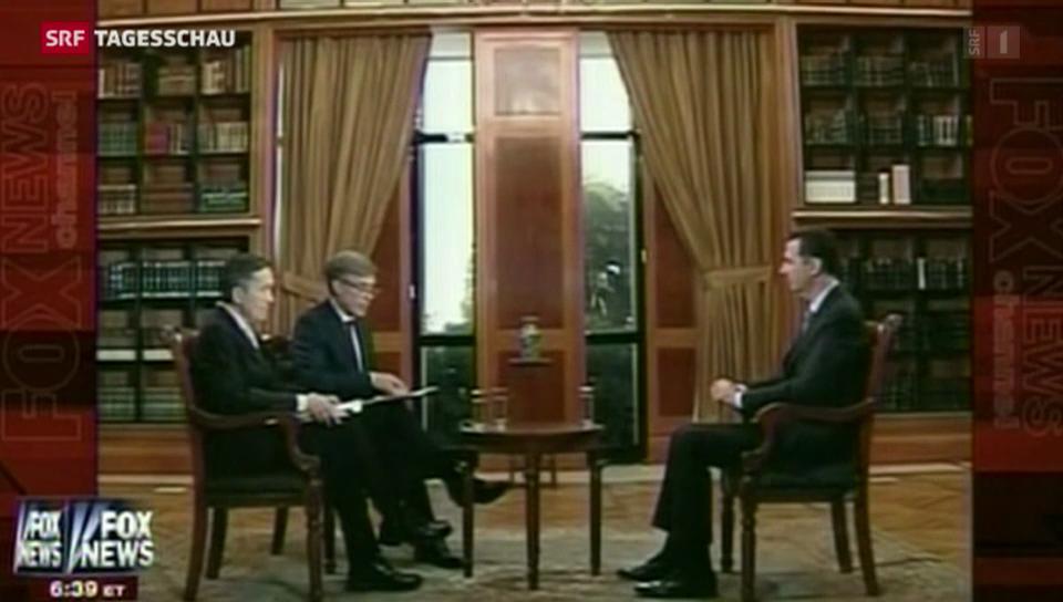 Assad nimmt Stellung zur Abrüstung der C-Waffen