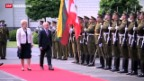 Video «Bundespräsident Ueli Maurer auf Staatsbesuch in Litauen» abspielen