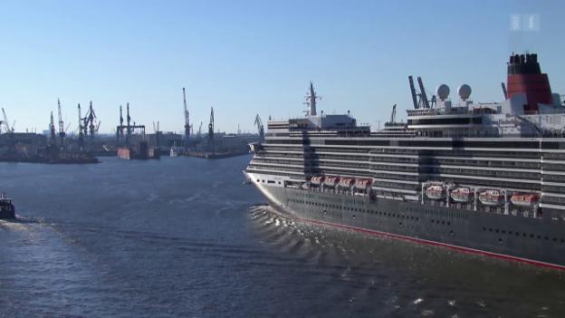 Video «Stinkende Kreuzfahrtschiffe: Ferien auf Kosten der Umwelt» abspielen