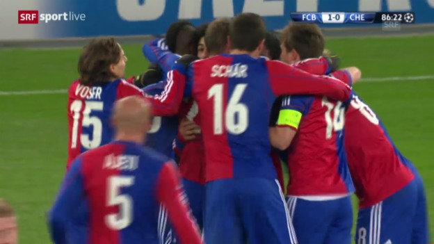 Video «Highlights Basel - Chelsea («sportlive»)» abspielen