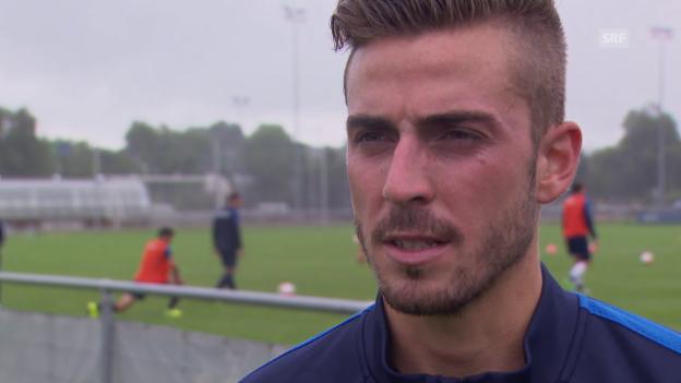 Video «Fussball: Marco Schönbächler über seine Vertragsverlängerung» abspielen