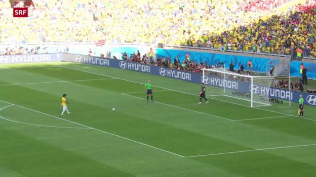 Video «Brasilien - Chile: Das Penaltyschiessen» abspielen