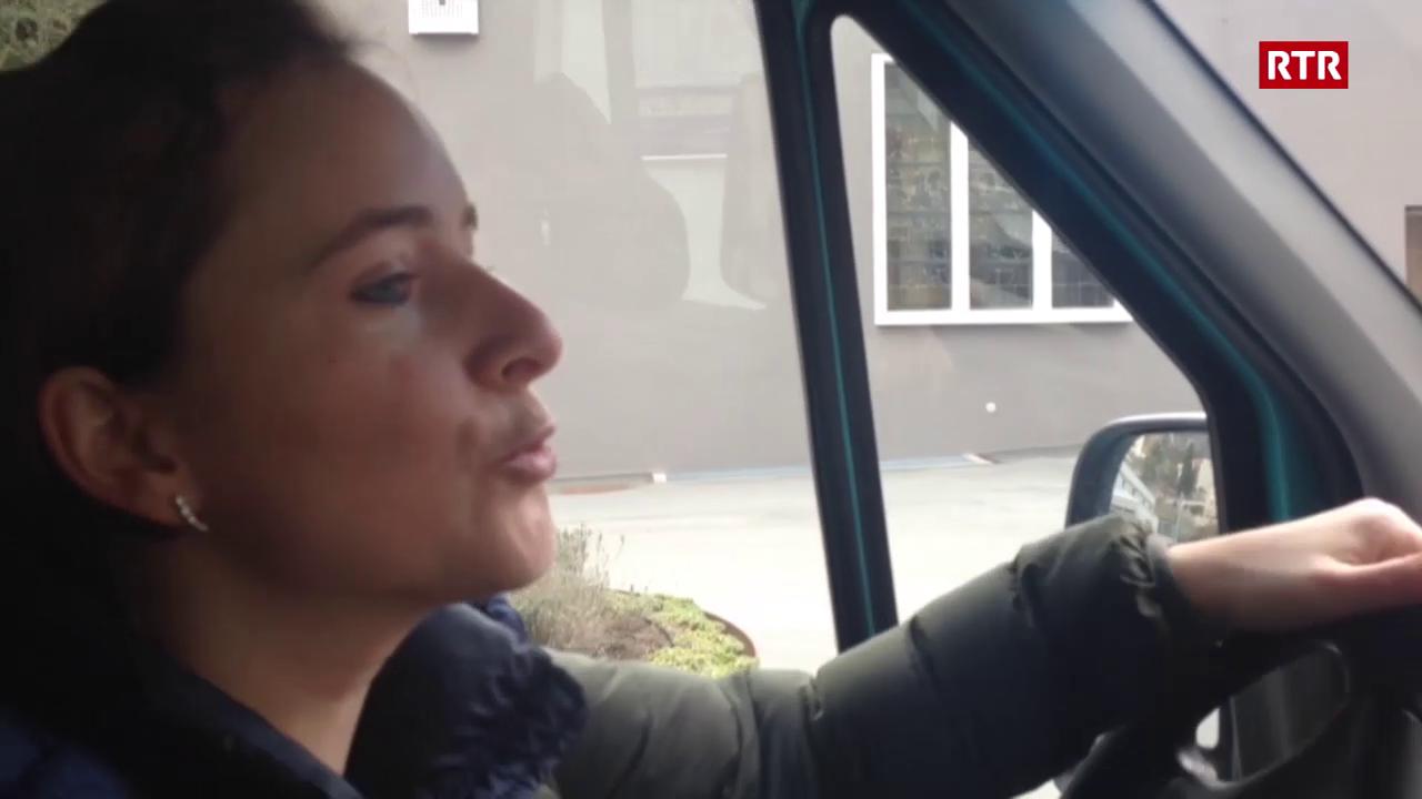 Pierina Bischofberger sto tegnair urden