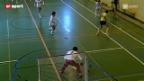 Video «Tscheggsch de Pögg – Unihockey: Wer hät's erfunde?» abspielen