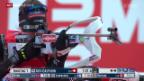 Video «Biathlon: Sprint der Frauen in Ruhpolding» abspielen